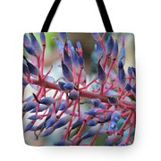 Blooming Bromeliads Collage Tote Bag