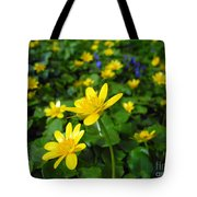 Blooming Buttercups. Tote Bag