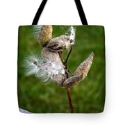 Blooming By The Fence Tote Bag