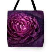 Blooming Cabbage Tote Bag