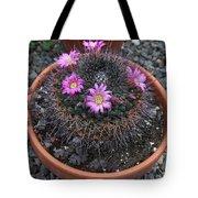 Blooming Cactus Tote Bag