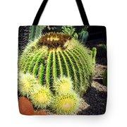 Blooming Cactus Two Tote Bag