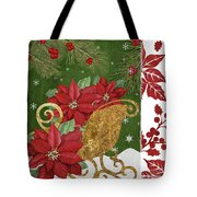 Blooming Christmas I Tote Bag