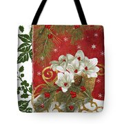 Blooming Christmas II Tote Bag