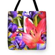 Blooming Colors Tote Bag