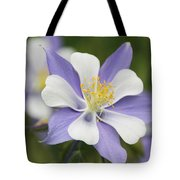 Blooming Columbine Tote Bag