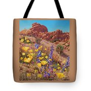 Blooming Desert Tote Bag