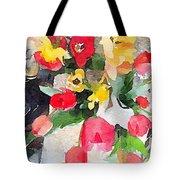 Blooming Fools Tote Bag