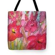 Blooming Glads Tote Bag