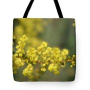 Blooming In Yellow Tote Bag