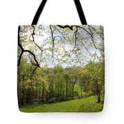 Blooming Landscape Tote Bag