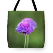 Blooming Onion Chives Tote Bag