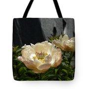 Blooming Peonies Tote Bag