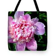 Blooming Peony Tote Bag