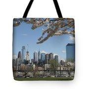 Blooming Philadelphia  Tote Bag