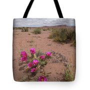 Blooming Prickley Pear Tote Bag