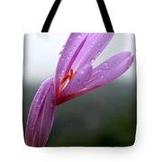 Blooming Purple Flower Tote Bag