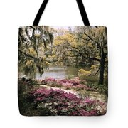 Blooming Shrubs And Trees Tote Bag