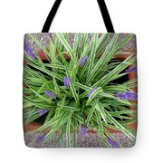 Blooming Spider From Above Tote Bag