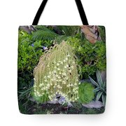 Blooming Succulent Plant. Amazing Tote Bag