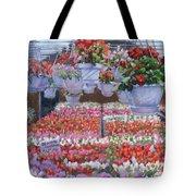 Blooms Ablaze Tote Bag