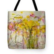 Blooms In Shadow Tote Bag