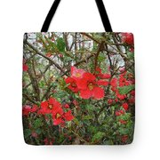 Blooms In The Alley Tote Bag