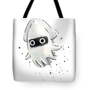 Blooper Watercolor Tote Bag