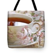 Blossoms Tote Bag by Stephanie Calhoun