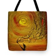 Blossom Tote Bag by Evelina Popilian