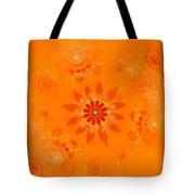Blossom In Orange Tote Bag