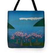 Blossom In The Hardanger Fjord Tote Bag