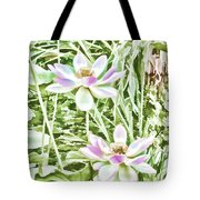 Blossom Pink Lotus Flower Tote Bag