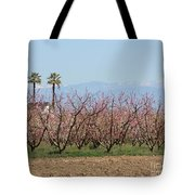 Blossom Trail 1 Tote Bag