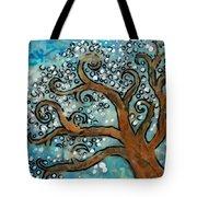 Blossom Tree - Miniature Art Tote Bag
