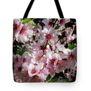 Blossoming Almond Branch Tote Bag