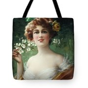 Blossoming Beauty Tote Bag by Emile Vernon