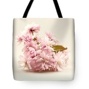 Blossoming Cherry Twig Tote Bag