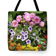 Blossoming Flowers Tote Bag