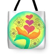 Blossoming From Within Tote Bag