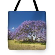 Blossoming Jacaranda Tote Bag