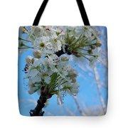 Blossoming Pear Tote Bag