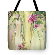 Blossoming Spring - Crab Apple Tote Bag