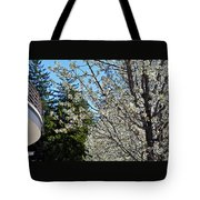 Blossoms And The Bard Tote Bag