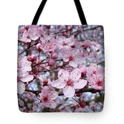 Blossoms Art Prints Nature Pink Tree Blossoms Baslee Troutman Tote Bag