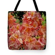 Blossoms In A Summer Shower Tote Bag