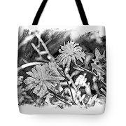 Zinnia Blossoms Tote Bag