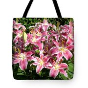 Blossoms Of Chase Lane Tote Bag