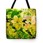 Blossoms Of Sunshine Tote Bag