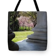Blossoms Of The Columns Tote Bag